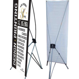 10mil Vinyl Indoor Banner Stands – 33X80 – Graphic SV Design